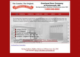 Overhead Door Company Of Portsmouth In Portsmouth, NH | 210 West Rd,  Portsmouth, NH