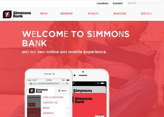 Simmons Bank - 5384 Poplar Ave, Ste 200, Memphis, TN