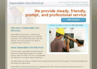 Dependable One Electrical Inc In Fairfax Va 11946 Goodwood Dr