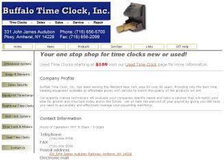 Buffalo Time Clock, Inc  - 2468 Niagara Falls Blvd