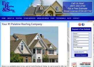Euclid Roofing U0026 Siding In Palatine, IL   424 S Vermont St, Palatine, IL