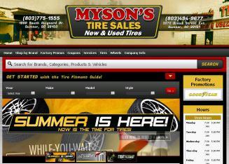 Mysons tires sumter sc