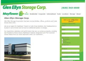 Glen Ellyn Storage Corp In Carol Stream Il 199 Easy St