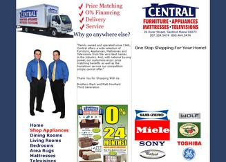 Attractive Central Furniture And Appliances In Sanford, ME | 26 River Street, Sanford,  ME