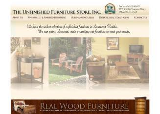 the unfinished furniture store inc in sarasota fl s tamiami trl sarasota fl