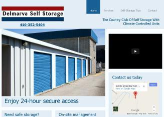Delmarva Self Storage In Biville Md 12059 Park Rd