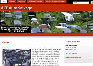 Ace Auto Salvage >> Ace Auto Salvage 34 Stover Ave Kearny Nj