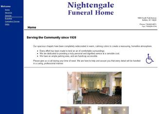 Nightengale Funeral Home In Buffalo NY