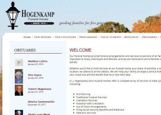 Hogenkamp Funeral Home 221 E Main St Saint Henry Oh