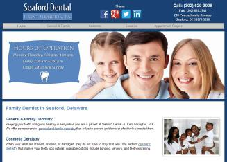 Seaford Dental Associates - 218 Pennsylvania Ave, Seaford, DE