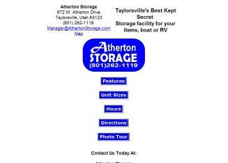Atherton Storage In Salt Lake City, UT   972 W Atherton Dr, Salt Lake City,  UT