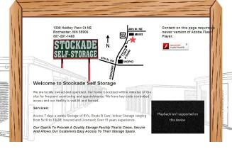Stockade Self Storage In Rochester, MN | 1308 Hadley View Ct NE, Rochester,  MN