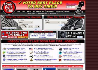 Town Fair Tire 755 Turner St Auburn Me