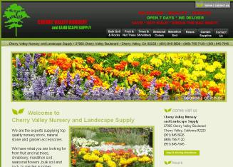 Cherry Valley Nursery Landscape 37955 Blvd Ca