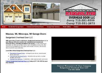 sc 1 st  Superpages & Badgerland Overhead Door LLC in Wausau WI | Garage Doors \u0026 Openers