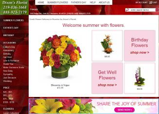 Dixons florist in munster in 919 ridge rd munster in florists mightylinksfo Images